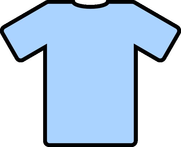 600x486 Blue T Shirt Clipart