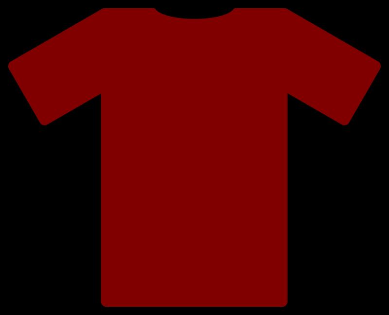 800x648 Soccer Shirt Clipart