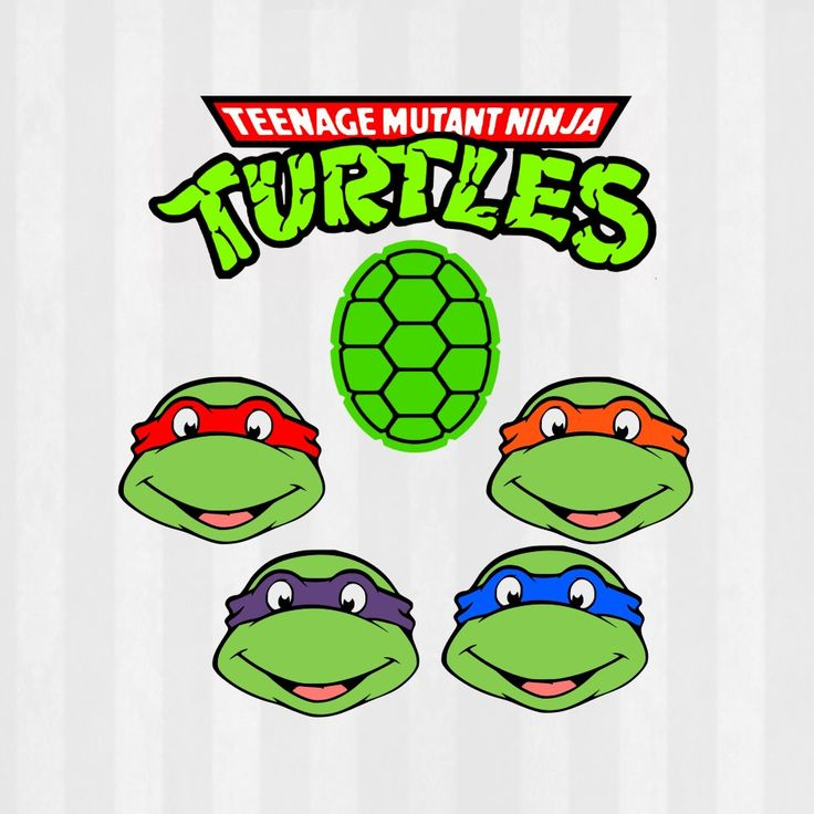 736x736 Head Clipart Ninja Turtle