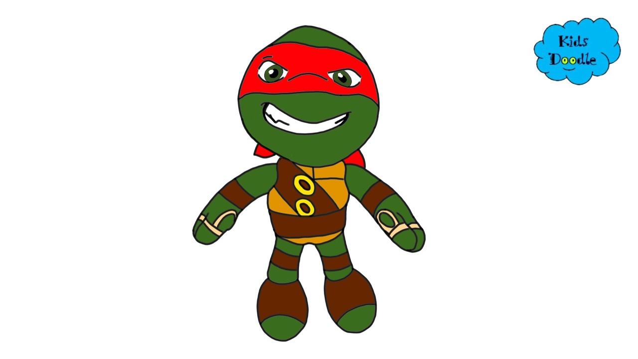1280x720 How To Draw Baby Teenage Mutant Ninja Turtles