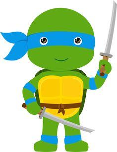 236x307 Ninja Turtles Digital Clipart Ninja Turtles, Turtle And Turtle Party