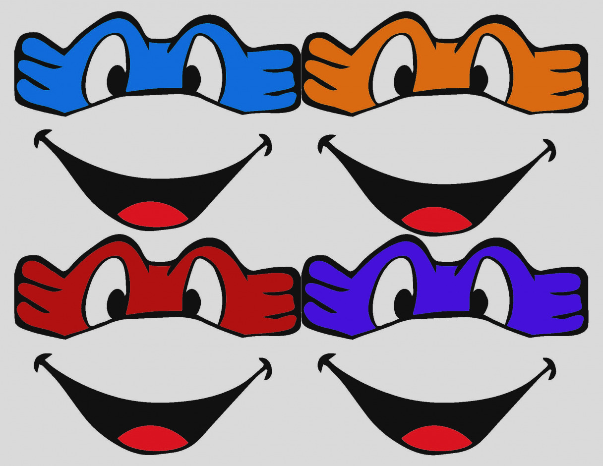 1216x940 Old Fashioned Ninja Turtle Mask Template Embellishment