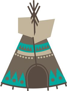 222x300 Native American Teepee Indianer Indianer Native