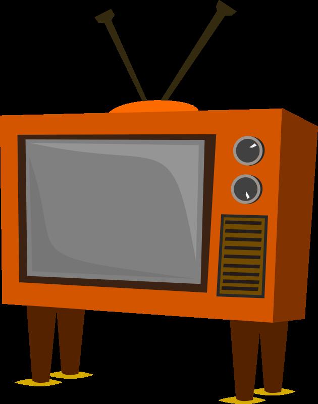 630x800 Free Clipart Funky Old Tv Stevepetmonkey