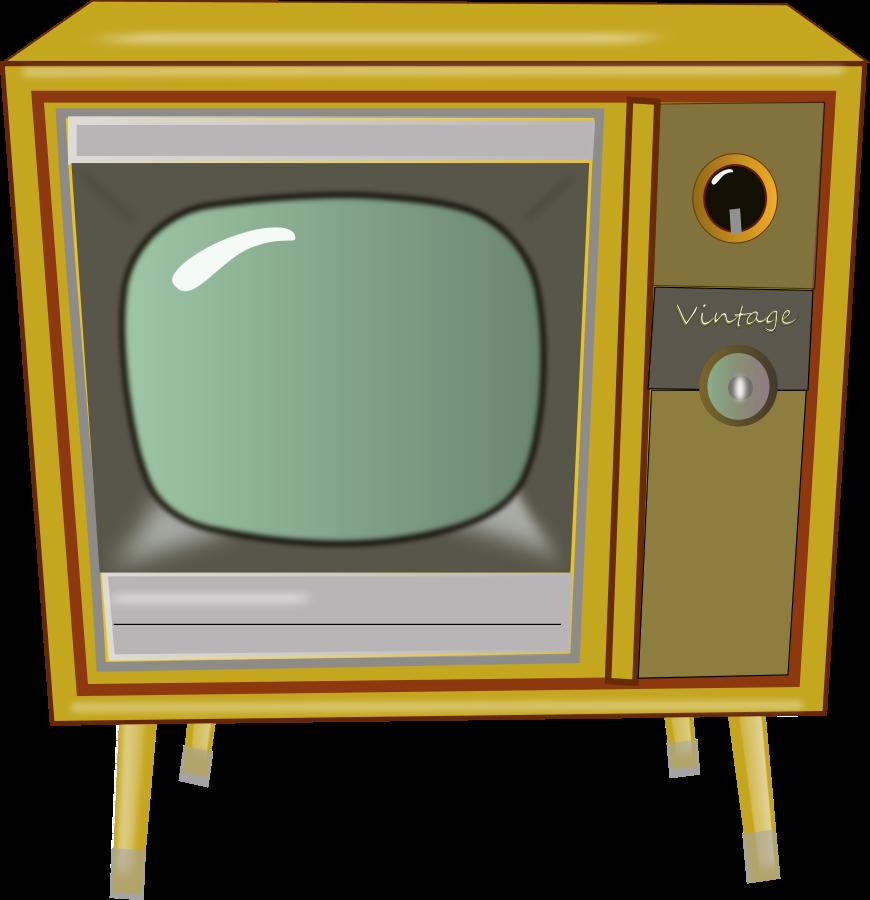 870x900 Watching Tv Clip Art