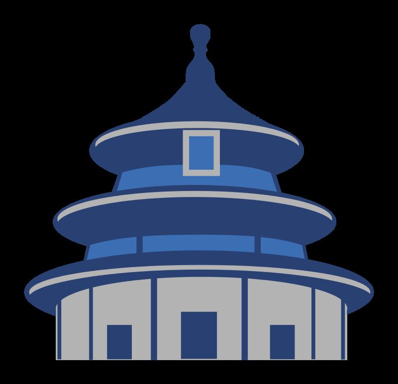 800x772 Free Clipart Temple Of Heaven Suchakra