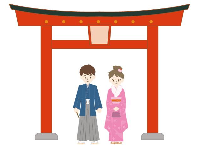 640x480 Shrine Temple New Year Kimono