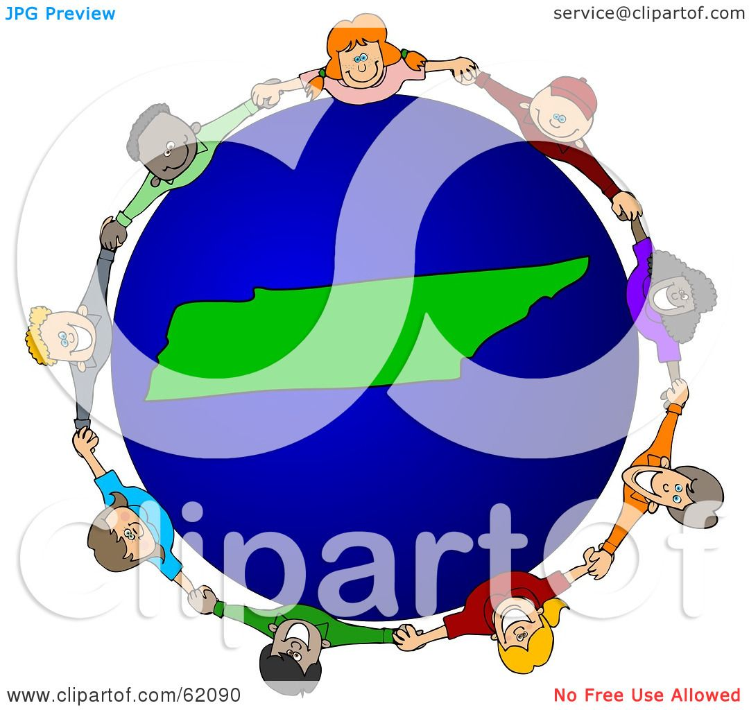 1080x1024 Royalty Free (Rf) Clipart Illustration Of A Circle Of Children