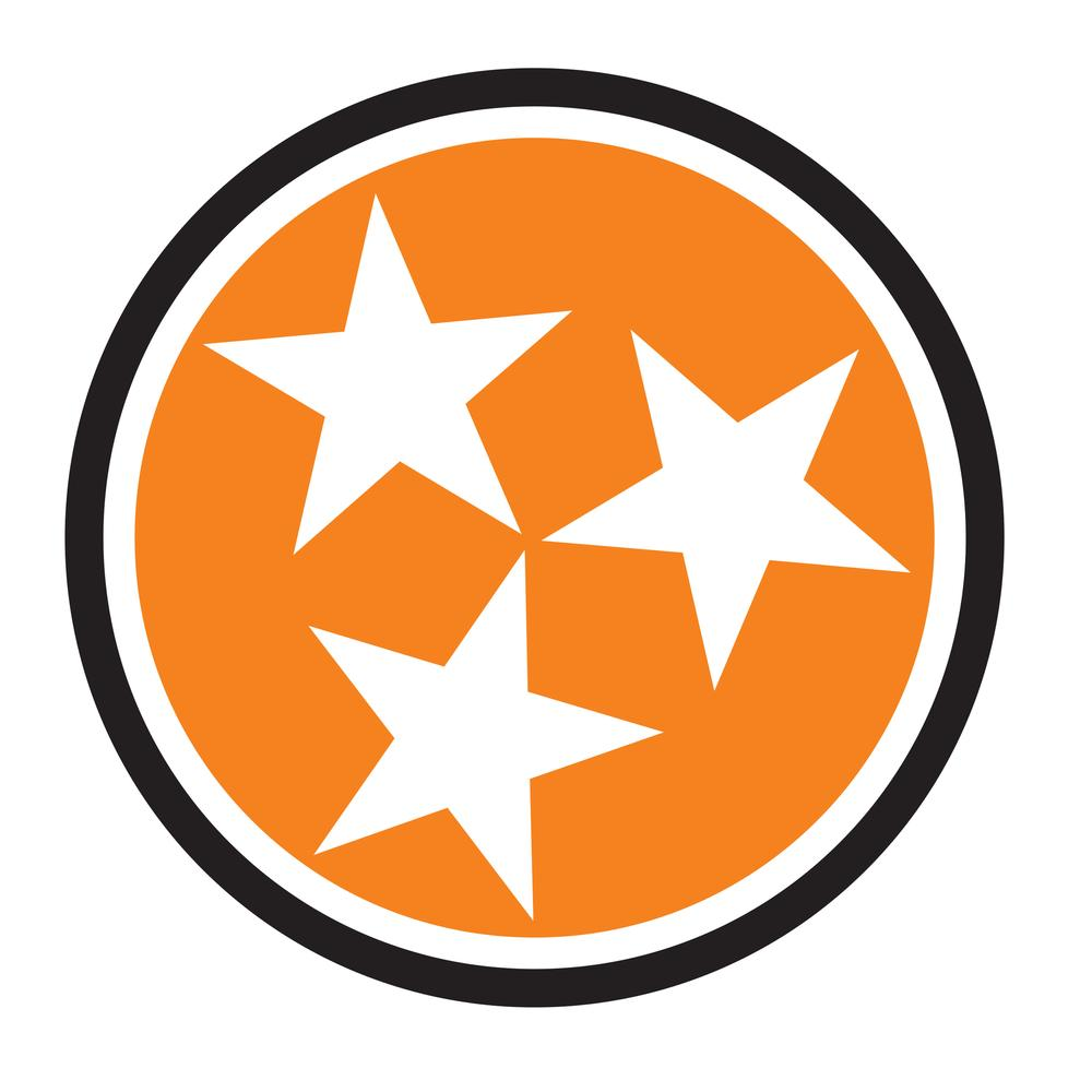 1000x1000 Tennessee Orange Tristar Hitch Cover