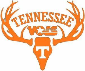 300x251 Deer Hunting Antler Truck Window Decal Sticker Tennessee Vols