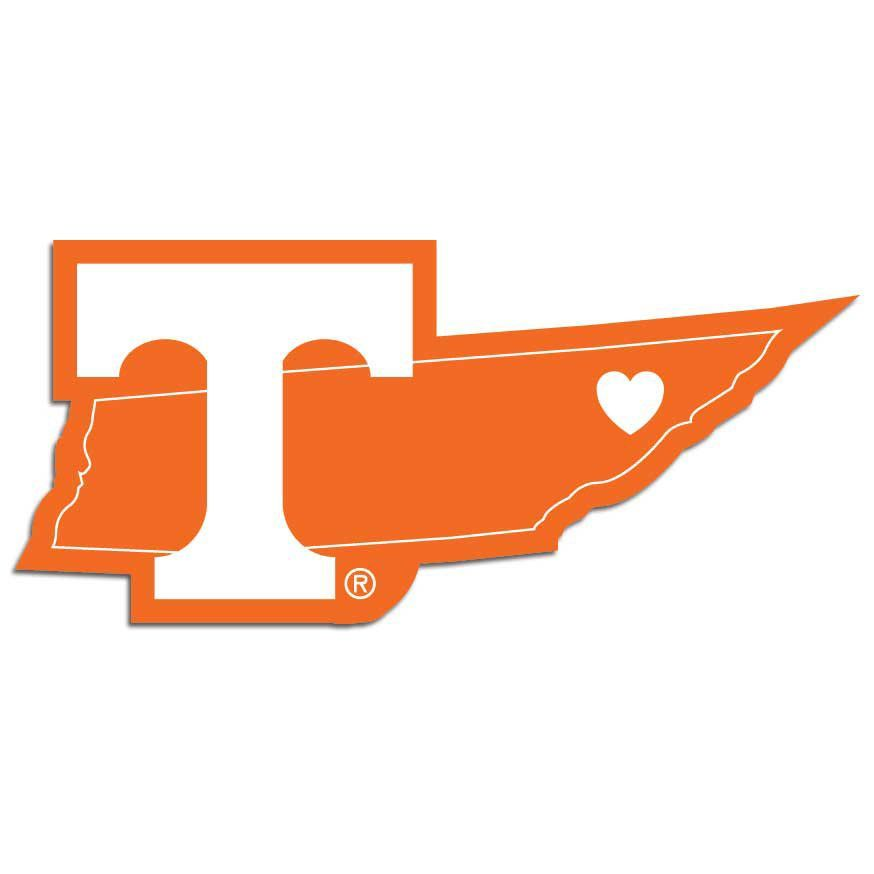 874x874 Tennessee Volunteers Decal Home State Pride Style~ Backorder