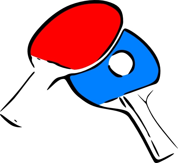 600x549 Table Tennis Clipart Table Tennis Clip Art Free Vector In Open
