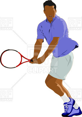 282x400 Man With Racket