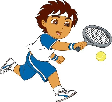Tennis Racket Clipart