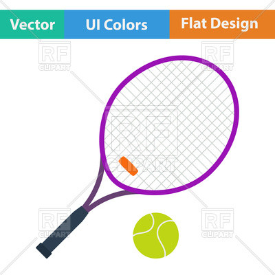400x400 Luxury Table Tennis Clipart Tennis Racket And Ball Royalty Free