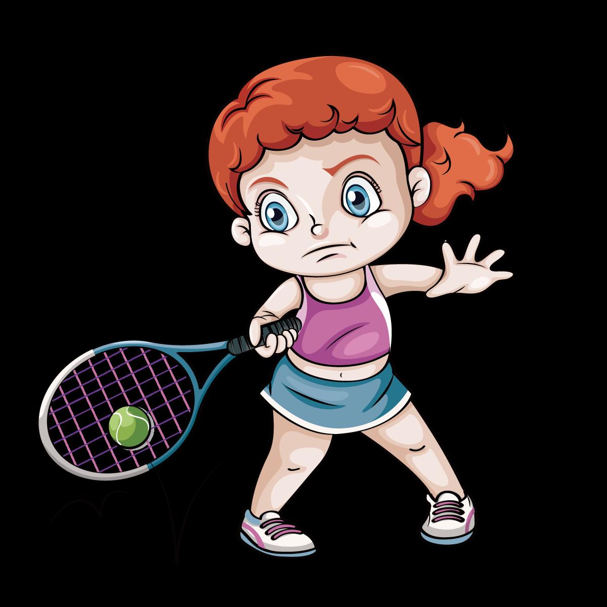 1200x1200 Tennis Play Clip Art