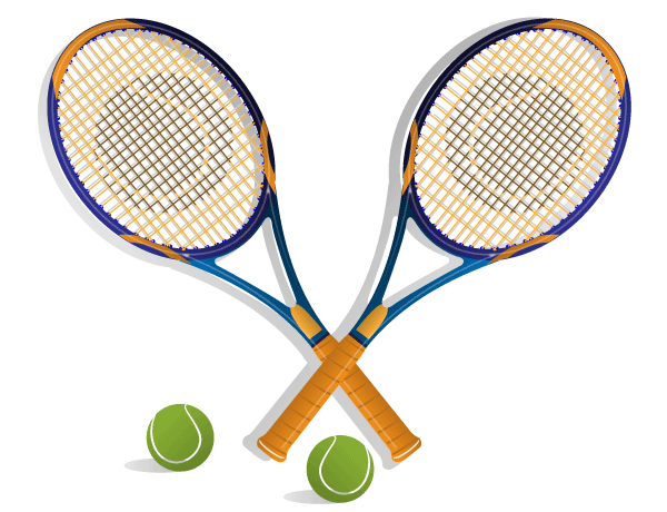 600x460 Tennis Racket Vector Rackets And Tennis