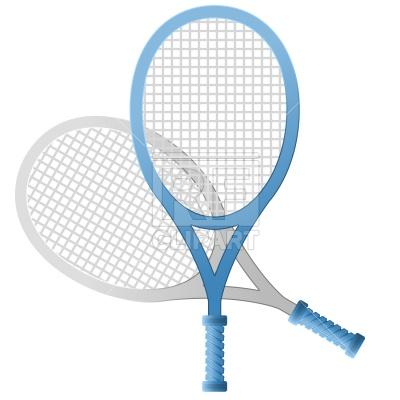 400x400 Tennis Racket Royalty Free Vector Clip Art Image