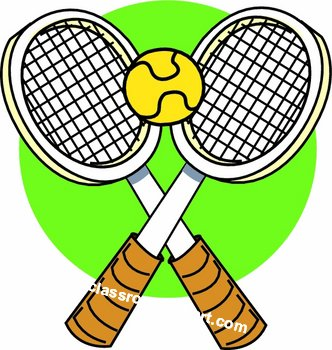 332x350 Tennis Racket Clipart Free Clipart Images Image