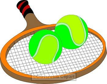 350x273 Elegant Tennis Racket Clipart