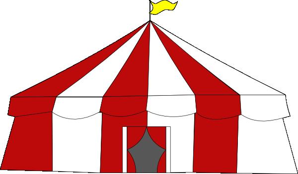600x351 Circus Tent Top Clip Art