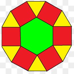 260x260 Dodecagon Hexagon Polygon Tessellation Triangle