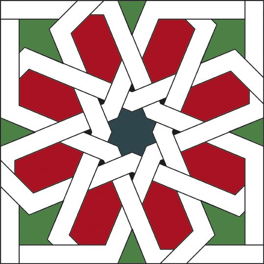 539x539 Islamic Patterns And Geometric Tessellations Islamic, Patterns
