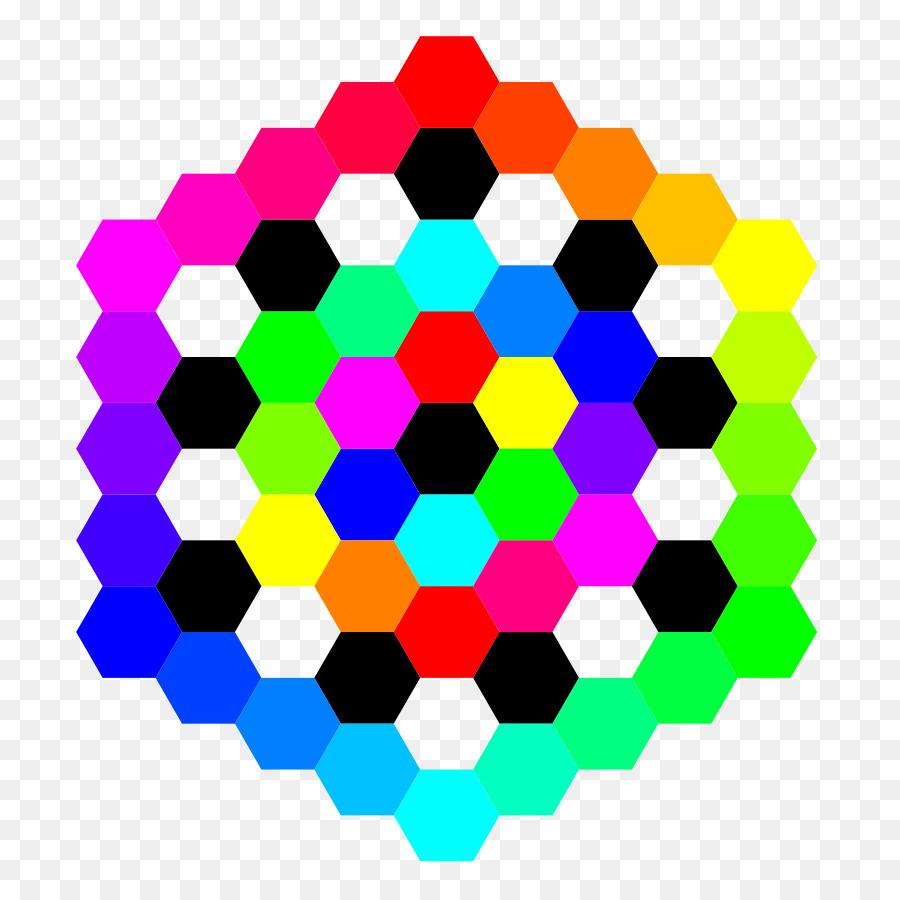 900x900 Tessellation Hexagonal Tiling Triangle Clip Art