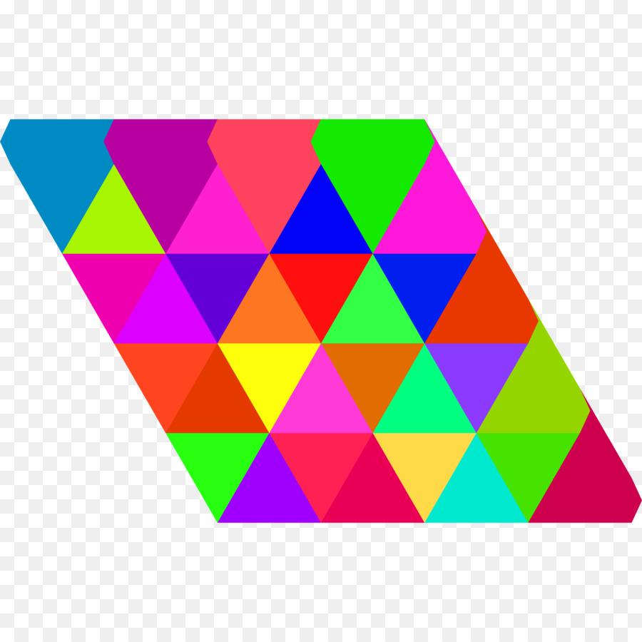 900x900 Triangle Triangular Tiling Tessellation Clip Art