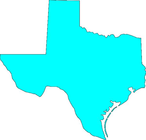 600x576 Texas Clip Art