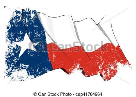 450x322 Texas Waving Flag Grunge. Vector Illustration Of A Waving Clip