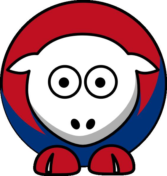 564x594 Sheep Texas Rangers Colors Clip Art