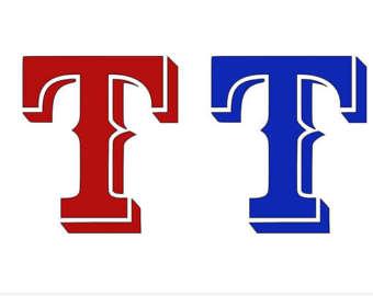 340x270 Texas Rangers Logos Etsy
