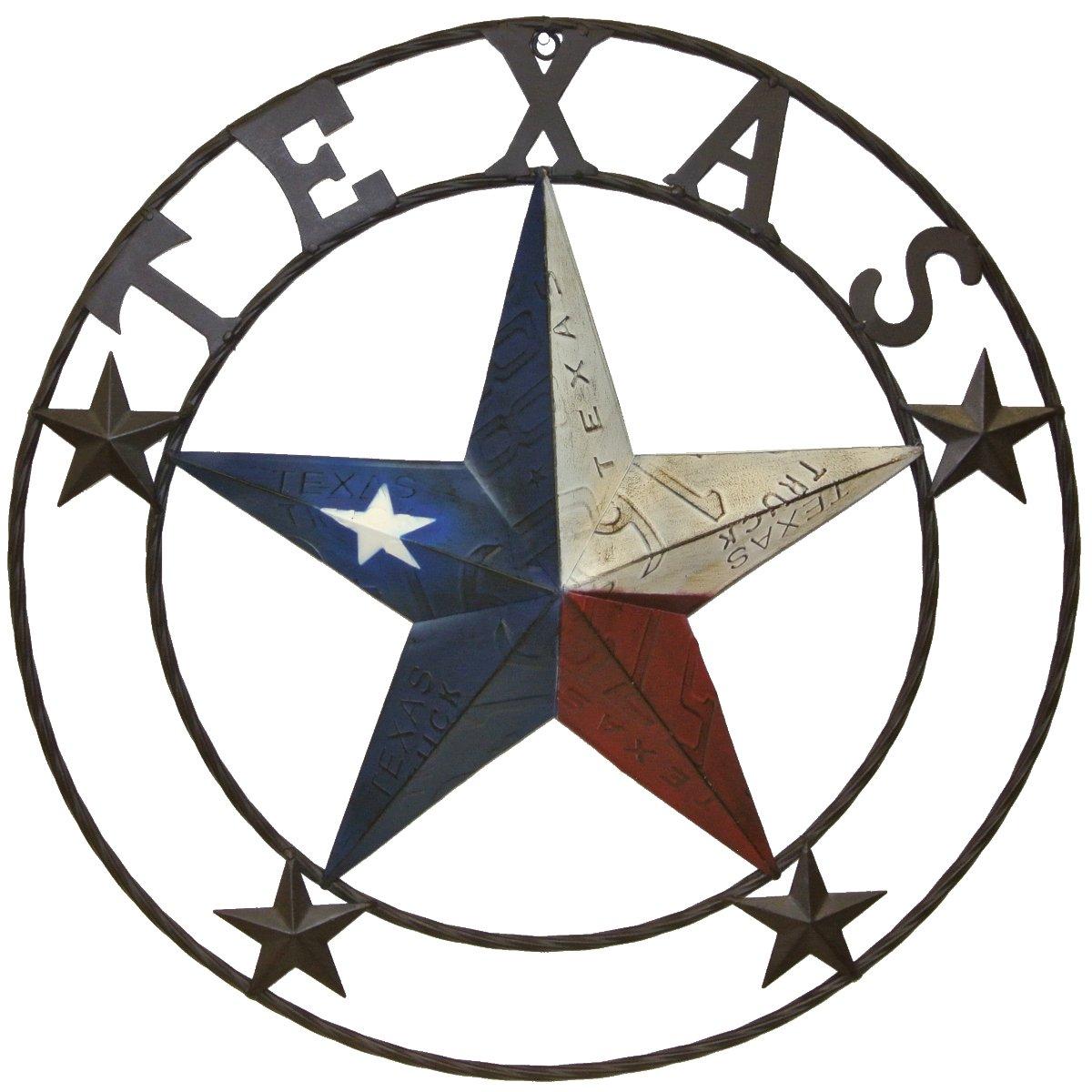 1200x1200 Texas Star In A Circle Clipart