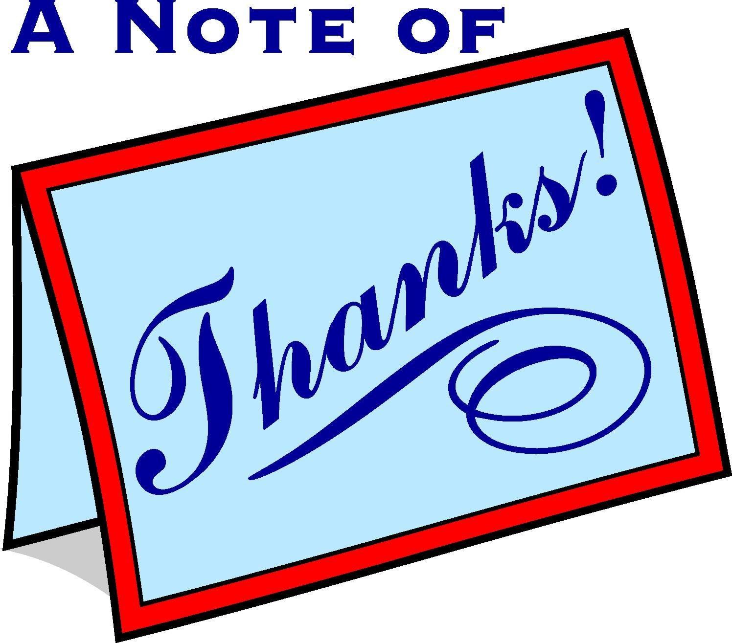1496x1315 Free Thank You Card Clip Art