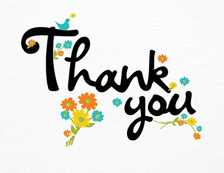 450x348 Rustic Clipart Thank You