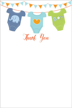 photograph about Printable Baby Shower Thank You Cards identify Thank By yourself Card Clipart at  Totally free for