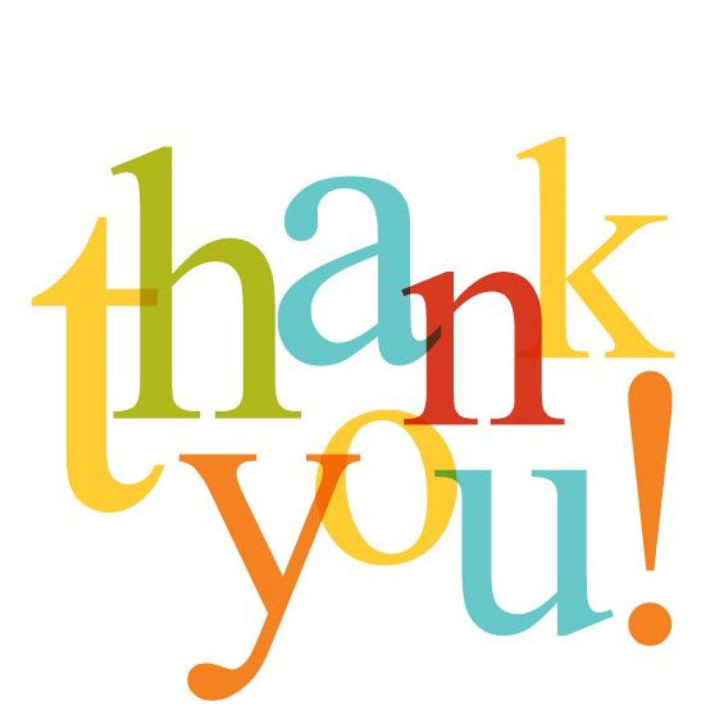 1024x1024 Free Clip Art Thank You Very Much
