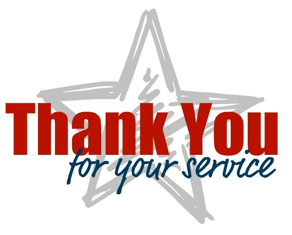 600x484 Collection Of Thank You For Your Service Clipart High