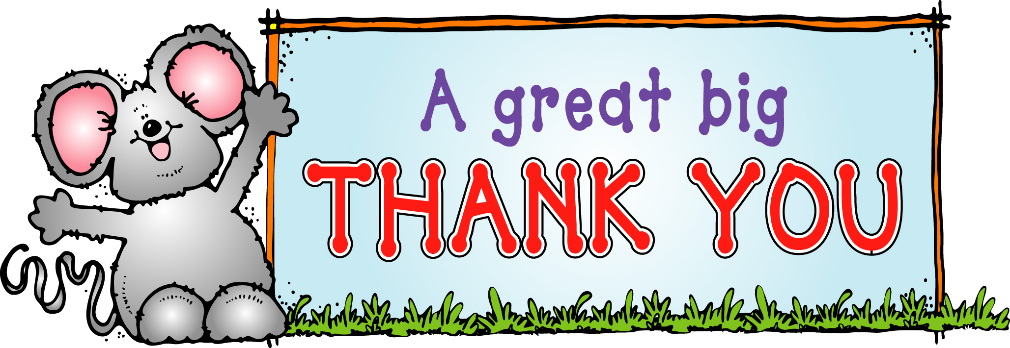 2056x710 Thank You For Your Help Clipart