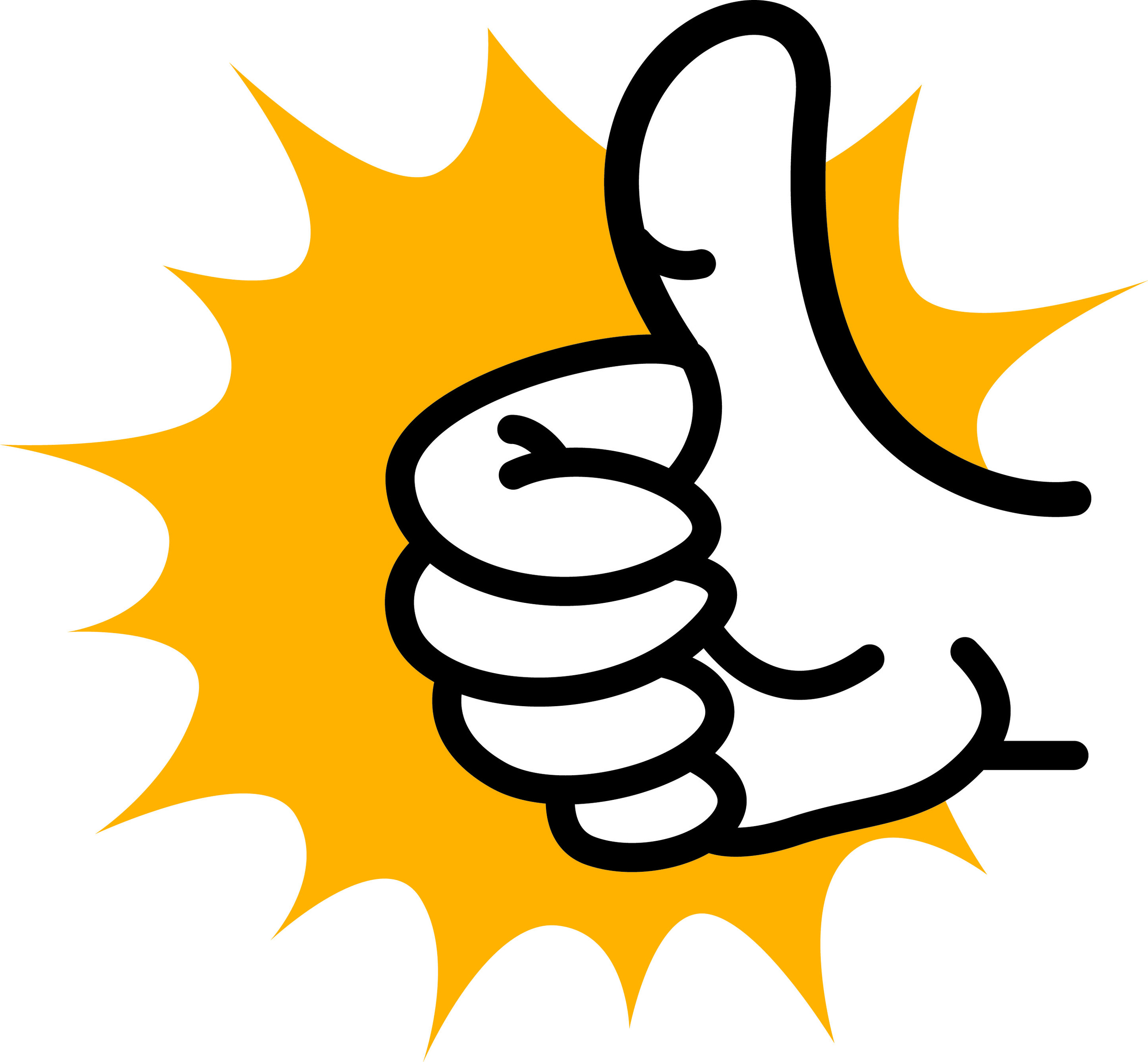 2746x2540 Thumbs Up Clipart