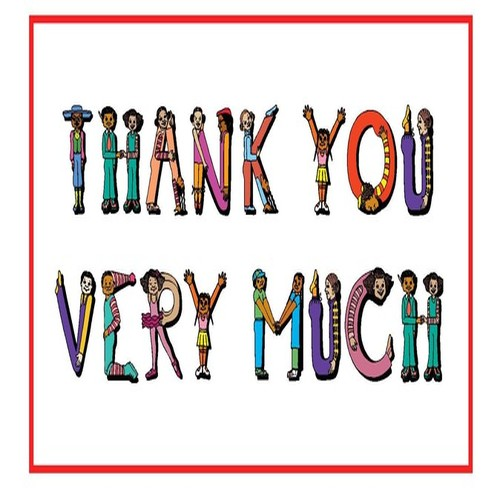 500x500 Thank You Very Much Clipart Panda