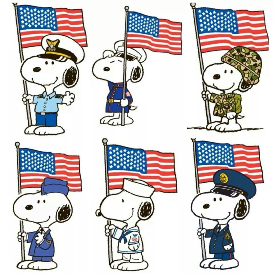 960x960 Salute To Our Armed Forces. Snoopy Snoopy, Peanuts