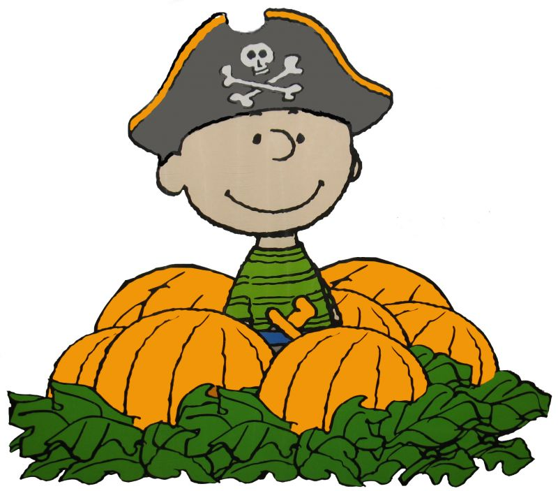 800x703 Charlie Brown Halloween Clipart