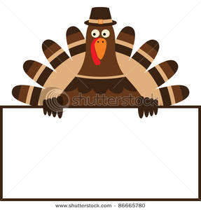287x300 Thanksgiving Clipart Sign
