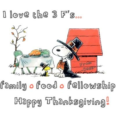 400x400 Thanksgiving clip art snoopy Peanuts Thanksgiving Fall
