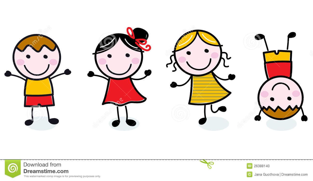 1300x752 Happy Kids Clipart Black And White