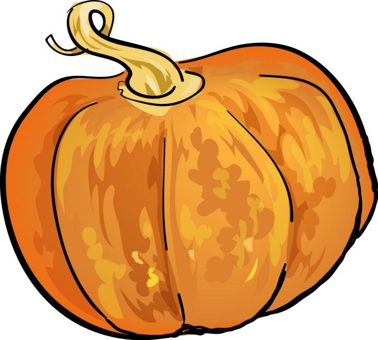 775x697 Pumpkin Clip Art