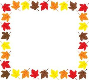 300x270 Free Thanksgiving Clipart Borders