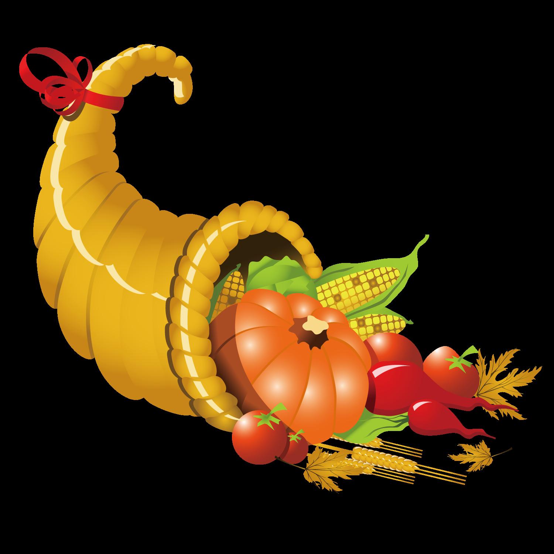 1500x1500 Cornucopia Thanksgiving Clip Art